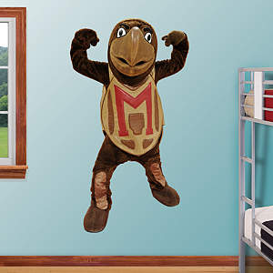 Maryland Terrapins Mascot - Testudo Fathead Wall Decal